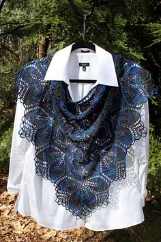 mkilcoyne's My Haruni Lace Knitting, Crochet Shawl, Knitting Patterns, Crochet Patterns, Shawls And Wraps, Hand Warmers, Scarf Wrap, Ravelry, Free Pattern