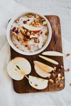 Oats Recipes, Healthy Recipes, Healthy Foods, Good Food, Yummy Food, Breakfast Snacks, Gluten Free Breakfasts, Aesthetic Food, Kaneli