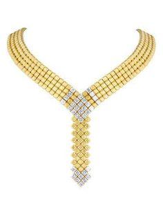 Carelle 18K Gold & D