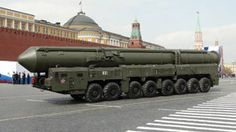 """RT-2UTTKh Topol-M, AKA SS-27 Sickle B: """"RT-2UTTKh Topol-M"""" is actually the designation for a Russian intercontinental ballistic missile (ICBM), but the 16-wheeled mobile-launching platform carrying it is made by Belarus-based MZKT. Just one of these ICBM warheads has roughly 38 times the destructive force of the atomic bomb dropped on Nagasaki in World War II."""