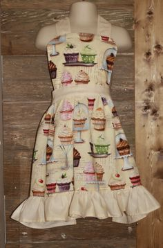 Child Apron and Chef Hat by Prinilla on Etsy