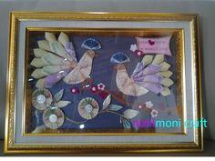 Mahar Tema Merpati Wedding Crafts, Packing, Weddings, Frame, Handmade, Gifts, Diy, Decor, Money