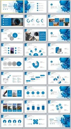 27+ Blue annual report chart PowerPoint Templates #powerpoint #templates #presentation #animation #backgrounds #pptwork.com #annual #report #business #company #design #creative #slide #infographic #chart #themes #ppt #pptx
