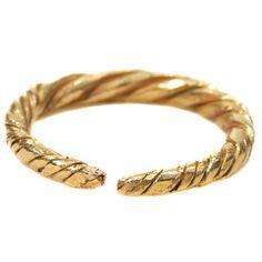 Viking gold ring