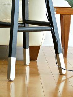 Dans le Townhouse: Pinterest Challenge: Dipped Leg Stool