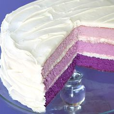 Purple Layer Cake