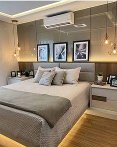 Bedroom Furniture Design, Modern Bedroom Design, Home Room Design, Master Bedroom Design, Dream Bedroom, Home Decor Bedroom, Modern Luxury Bedroom, Luxurious Bedrooms, Bedroom Colors