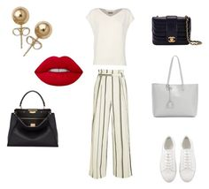 3 by greenteanosugar on Polyvore featuring мода, Alberto Biani, 3.1 Phillip Lim, Chanel, Fendi, Yves Saint Laurent and Bling Jewelry