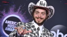 Post Malone celebrates the new year with huge face tattoo: 'Gauntlet on the baby. - Post Malone celebrates the new year with huge face tattoo: 'Gauntlet on the baby boy' – Post - New Post Malone, Baby Memorial Tattoos, Tattoos For Baby Boy, Kelsey Merritt, Boy Post, Dan & Shay, Elizabeth Hurley, The Beach Boys, Jonas Brothers