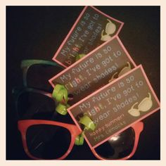 Cheap sunglasses from The Dollar Tree and this free tag make for easy end-of-the-year gifts!