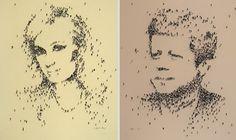 Human pixels par Craig Alan