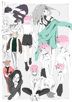 Character Design Animation, Character Art, Anime Art Girl, Manga Art, Neko Girl, Drawing Reference Poses, Darling In The Franxx, Noragami, Character Design Inspiration