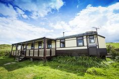 Converted Railway Carriage, Aberporth, Wales. | 27 Incredible Airbnb Locations In Europe