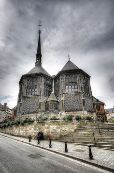 Honfleur . l'église de Sainte Catherine. By far one of the best churches I have ever been in