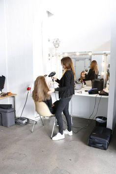 ...hair and make-up!