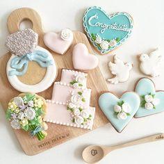 Love that flower bouquet cookie