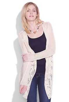 One of Lucky Brand's cardigans that is great for lounging around in or even for when you play dress up.