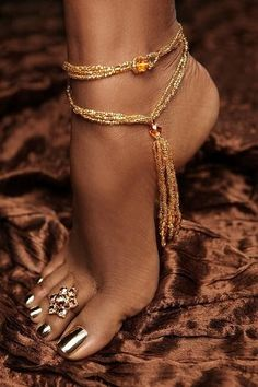 emilanton:  Foot Jewelery                                                       …