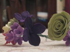 Clay Flowers: Filler Flower Tutorial :  wedding crafts diy flowers tutorial Img 835