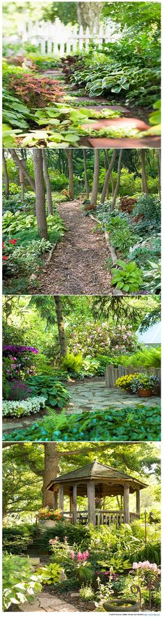 Pretty garden paths