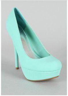 Tiffany's blue heels!