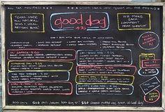 Food Truck Menu Psychology Tips: Good Dog Houston Menu