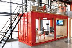 Ship Shape: Inhouse's Office For Ad Agency Ninety9Cents | Companies | Interior Design