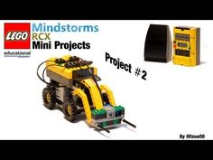 Lego Mindstorms RCX Mini Projects -- Project #2 - YouTube Lego Mindstorms, Lego Minifigure, First Lego League, Lego Robot, Lego Creations, Legos, Programming, Youtube, Projects