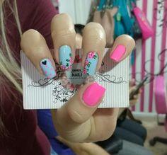Love Nails, Pretty Nails, Vintage Nails, Nail Inspo, Hair And Nails, Nail Art Designs, Nail Polish, Make Up, Garra