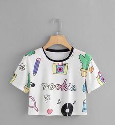 Crop Top Outfits, Cute Casual Outfits, Swag Outfits, Stylish Outfits, Girls Fashion Clothes, Teen Fashion Outfits, Kids Outfits, Girl Fashion, Fashion Spring