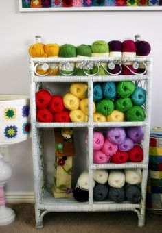 Felted Button: ::It's Raining Wool!::