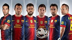 Six Barça players in contention for uefa.com Team of the Year