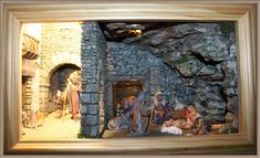 Nativity, Painting, Epiphany, Portal, Ss, Scene, Children, Christmas, World