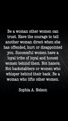 Never been one to hate other women..always support unless they are crazy then you just pray for them.