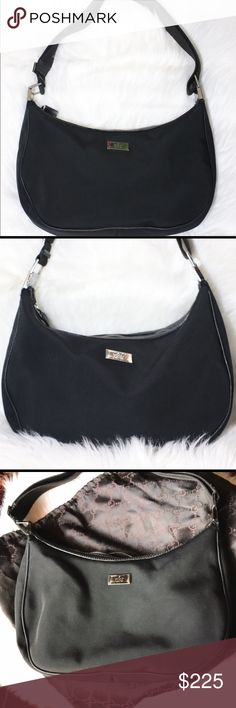 111d179ae7c Spotted while shopping on Poshmark  GUCCI Canvas Shoulder Bag!