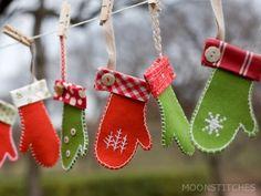 Enfeites de natal / Christmas ornaments