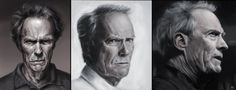 Clint Portraits by WeaponMassCreation