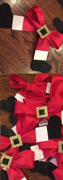 50 DIY Santa Christmas Decoration Ideas Meowchie's Hideout