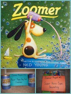 Adventures in Reading With Kids: Summer Book Exchange: Zoomer