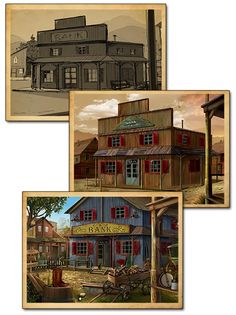 Golden Trails: The New Western Rush Concept Art | Awem Games