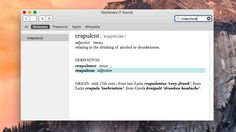 Add words to mac dictionary