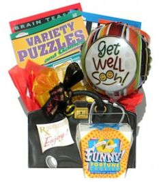 What to Include in a Food Free Get Well Gift Basket