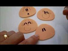 Como Pintar Olhos Para Bonecos (Fácil)-Lucas E.V.Arts. - YouTube