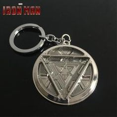 Iron Man Arc Reactor Keychain - WoodenNation Iron Man Arc Reactor, Pocket Watch, Personalized Items, Accessories, Products, Gadget, Pocket Watches, Jewelry Accessories