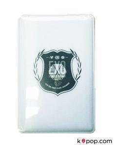 K2POP - SMTOWN POP-UP STORE EXO OFFICIAL GOODS - EXO CARD CASE (LOGO)