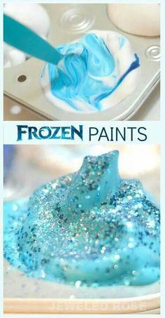 Frozen paint