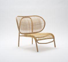 """Dumbo"" rattan chair designed by Morten Husum Nielsen for Sika-Design Rattan Furniture, Design Furniture, Chair Design, Furniture Decor, Modern Furniture, Rattan Armchair, Furniture Stores, Cheap Furniture, Furniture Inspiration"