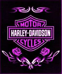 Purple Harley Badge Graphics