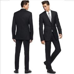Bar III 2 PC Black Solid Slim Fit Suit – Size: 42L - 35/35 unhemmed Retail: $595. | Property Room