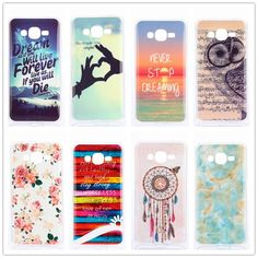 For Samsung Galaxy J2 Prime Case Cute Landscape Owl Soft TPU Back Cover Silicone Phone Cases J2Prime SM-G532F Case Ultra Thin